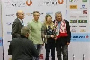 Stefanie Krenmayr Tischtennis-Spieler des Jahres!